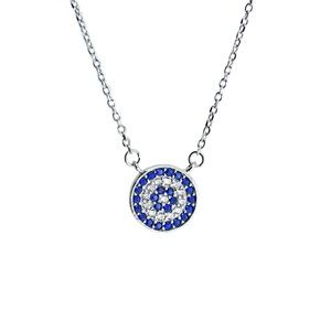 Jewelry - Sterling silver evil eye  necklace
